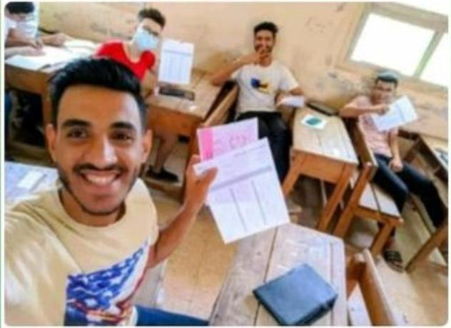 """امتحانات الثانوية 2021.. وزير التعليم"""" يكشف حقيقة """"سيلفي البابل شيت"""" 11015"""