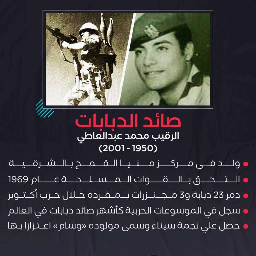 دمر 23 دبابة إسرائيلية أثناء حرب أكتوبر.. 19 عاما على رحيل «صائد الدبابات» محمد عبدالعاطي 111124