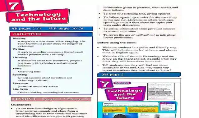 تحميل كتاب دليل المعلم انجليزي الصف الثاني الاعدادى ترم ثاني 2021  111132