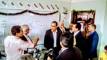 رئيس الوزراء يحضر حصة لغة عربية لاولى ابتدائي في مدرسة شرم الشيخ ويشيد بمنظومة التعليم 11710