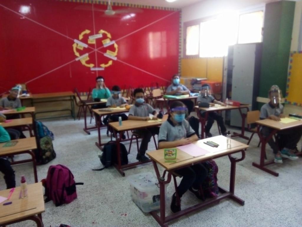 شكل الدراسة والفصول عند بدء العام الدراسي في 17 اكتوبر2020 12076