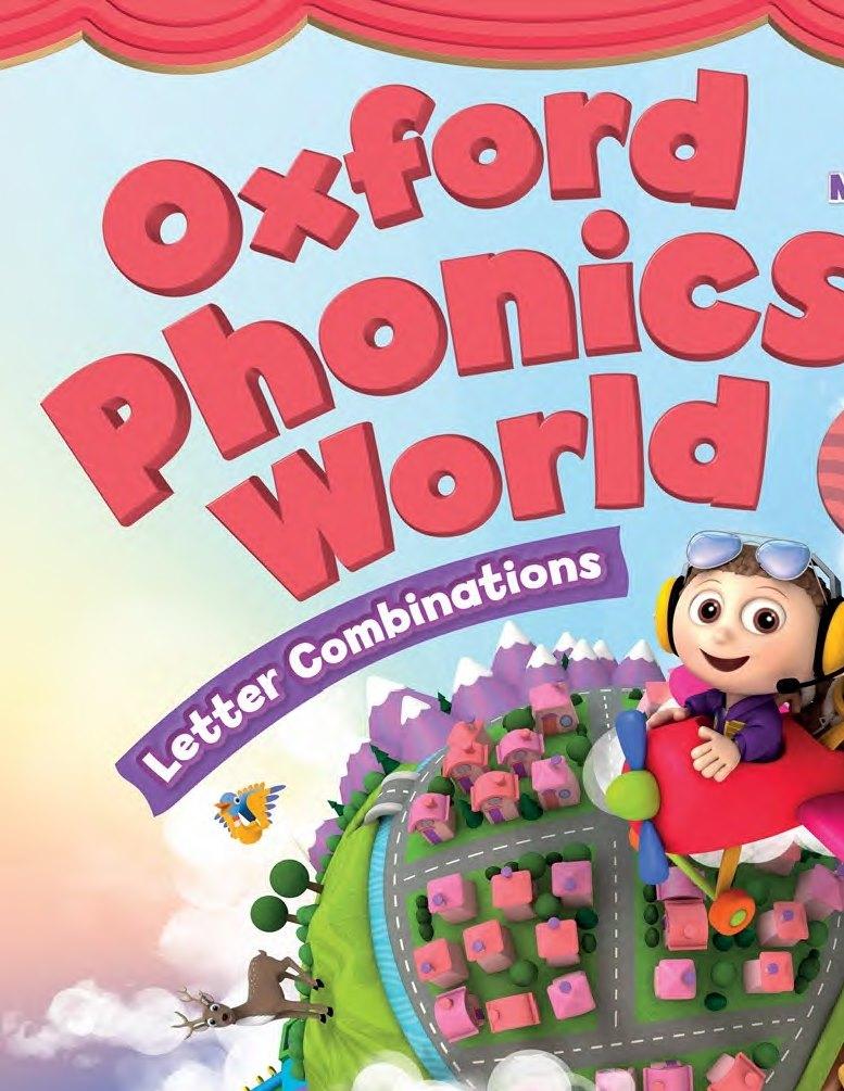 كتب تاسيس اللغة الانجليزية للمبتدئين و للاطفال أيضا للكبار oxford phonics world 12557