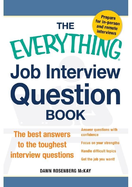 جميع اسئلة المقابلات الشخصية المتوقعة عند التقدم لوظيفة مع اجاباتها باللغة الإنجليزية 12560