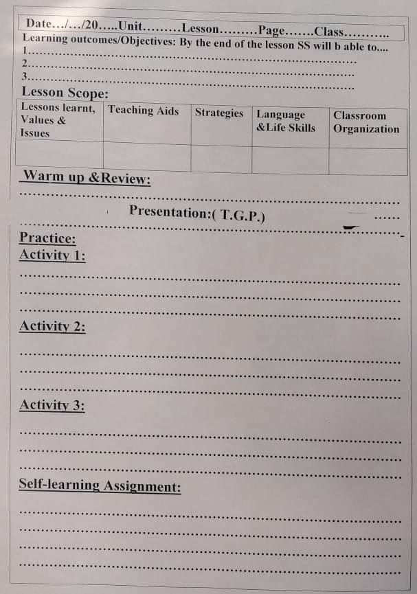 لغة انجليزية l  خطوات التحضير من الصف الرابع الابتدائي وحتى الثالث الثانوى 12637