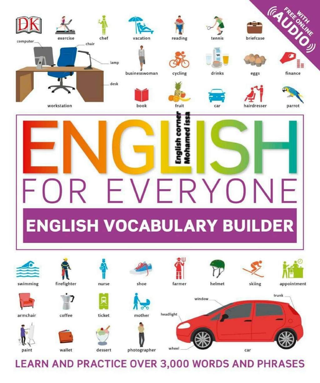 تحميل |  كتاب الإنجليزية للجميع المصور لبناء المفردات.. اكثر من ( 3000 ) كلمه وجمله مصوره 12859