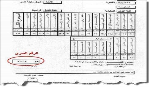 مكتب تنسيق الجامعات يصدر تنبيه مهم بشأن الرقم السرى بشهادة الثانوية العامة 13152
