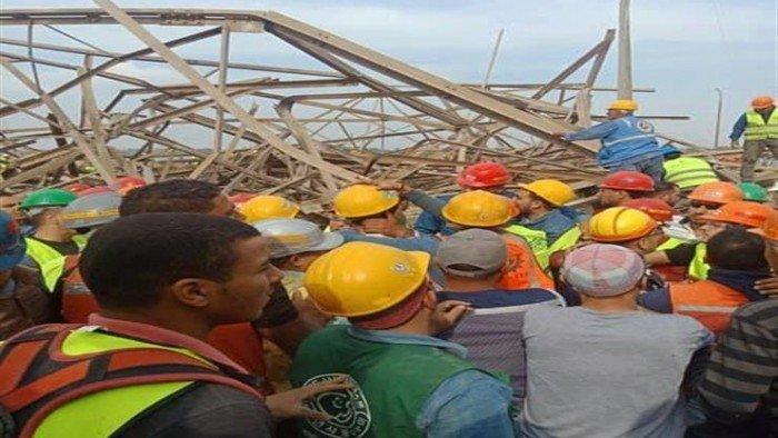 بيان الكهرباء بشأن سقوط برج محطة أوسيم 13163