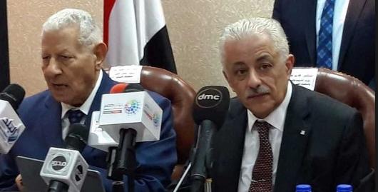 ننشر.. حوار وزير التربية والتعليم مع رئيس المجلس الاعلي للاعلام 1322