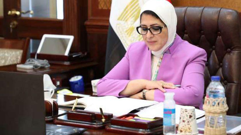 توجيهات وزيرة الصحة لمواجهة الموجة الثانية لكورونا 13710910