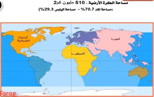 شرح درس قارات العالم - جغرافيا 3 اعدادى - ترم اول 14208