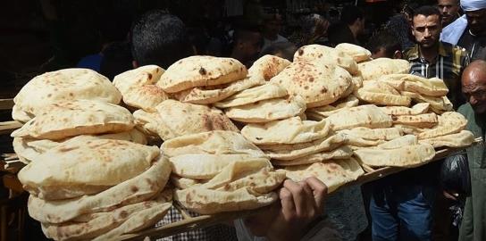 قرار بتوزيع الخبز من غير بطاقة لوجود عطل في السيستم 14219