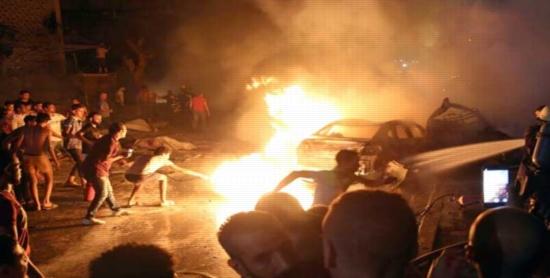 عاجل ومؤسف.. ارتفاع عدد وفيات ومصابين انفجار معهد الاورام بين المتوفيين طفله 14447