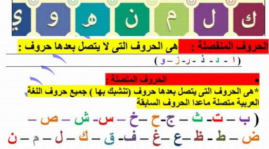 مذكرة اللغة العربية للصف الأول الابتدائي ترم أول 2020 أ/ عزازي عبده 14714