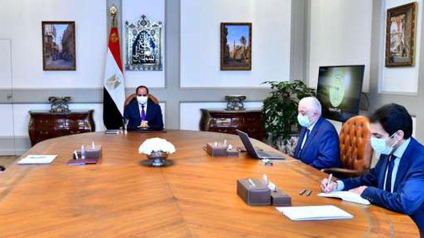 الرئيس السيسي يوجه بالالتزام الدقيق بالإجراءات الاحترازية عند استئناف الدارسة 18249310