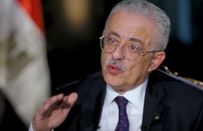 وزير التربية والتعليم: إغلاق المدارس قرار دولة  19_20147