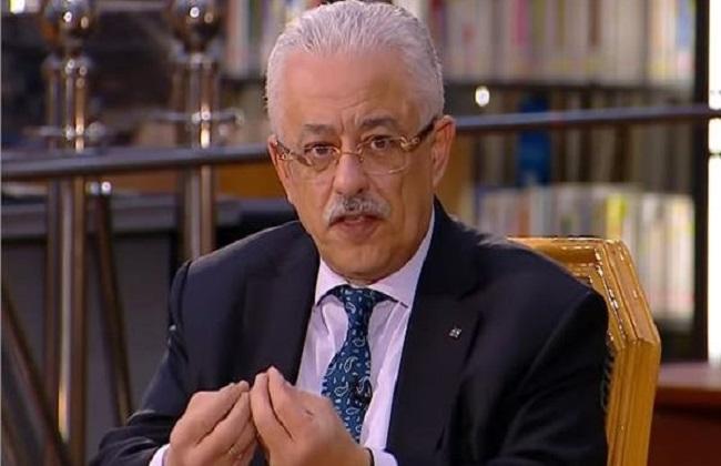 وزير التعليم: إطلاق قناتين للثانوى العام والفنى وأخرى للغات  19_20225