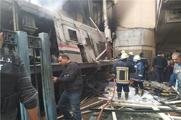 «مدرس اون لاين» ينعى ضحايا حريق محطة مصر  20190215