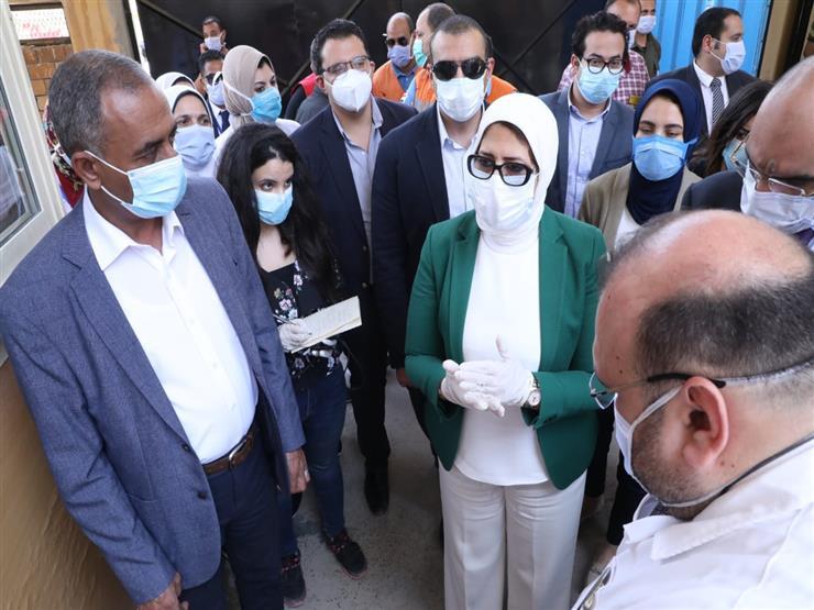 عاجل.. وزيرة الصحة تناشد المواطنين بعدم تناول أي أدوية إلا بإشراف طبي 2020_610