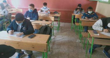 طلاب أولى إعدادي: الامتحان المجمع افضل من امتحان كل مادة على حدة 20210311