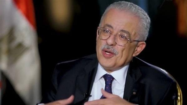 """وزير التعليم يعلق على صعوبة  امتحان اللغة العربية للثانوية العامة """"علمي"""" 211122"""