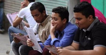 طلاب الثانوية العامة يمتحنون اللغة الأجنبية الثانية والتربية الوطنية اليوم 21161