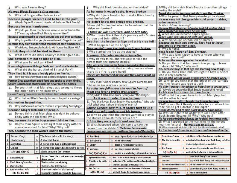 مراجعة لغة انجليزية الثالث الاعدادي ترم اول 2020 لن يخرج عنها الامتحان 21250