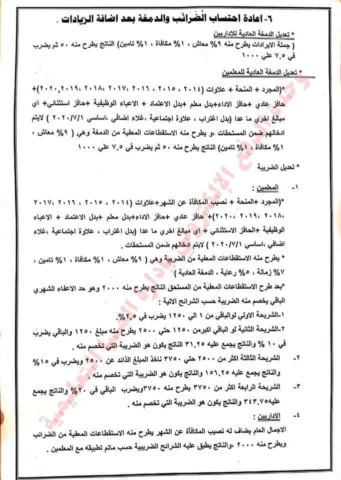تعليمات مرتبات شهر يوليو للوحدات الحسابية بالتعليم 21612