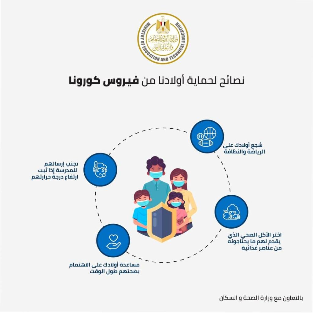 التعليم تعلن الإرشادات الوقائية لحماية الطلاب من فيروس كورونا 21745