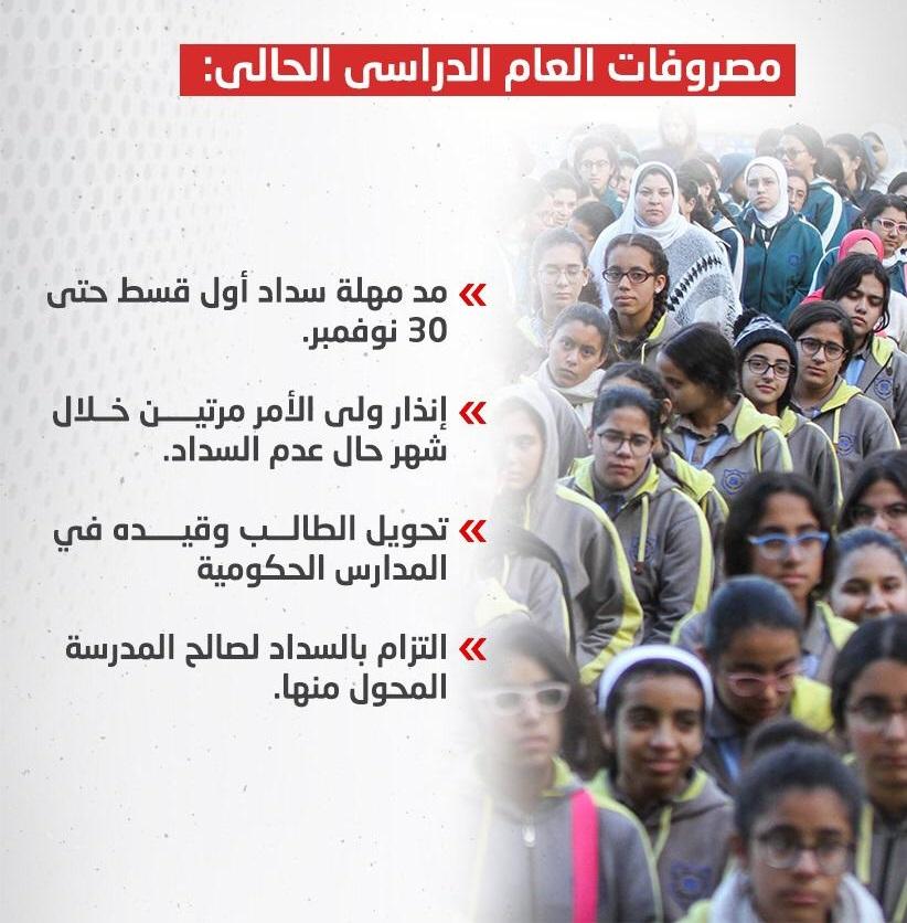 التعليم تصدر ضوابط جديدة بشأن مصروفات المدارس الخاصة 21797