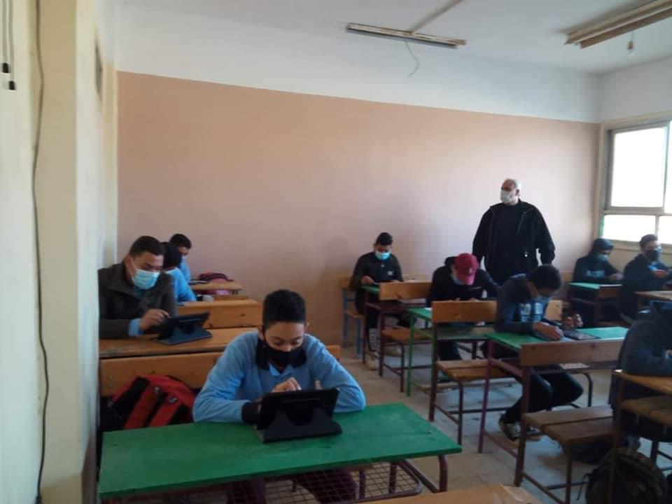 """الامتحان الالكتروني التجريبي لطلاب الأول الثانوي """"صور"""" 21902"""