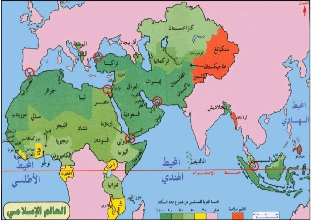 عرض تسلسلي لحكام العالم الإسلامي عبر التاريخ  21997