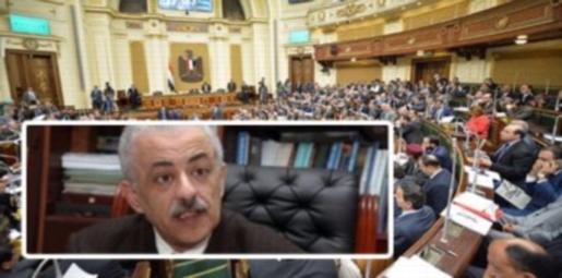 """مشادة ساخنة داخل البرلمان بسبب الـ 2 مليار جنيه التى تم اخذها من موازنة الأبنية التعليمية علشان """"التابلت"""" 22143"""
