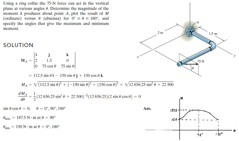 مسائلة العزوم فى ال 3D   كتاب Hibbeler  22723