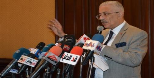 """وزير التعليم"""" يكشف سبب تقديم موعد الدراسة لـ 11 سبتمبر 23132"""
