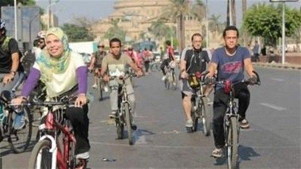 """""""دراجة لكل مواطن"""" مبادرة حكومية لتغيير ثقافة الانتقال اليومى للمواطنين وتحسين لياقتهم البدنية والصحية 23610"""