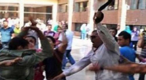 علقة موت لاثنين من المعلمين بقليوب 2387