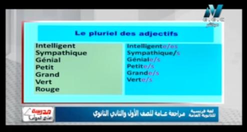 فيديو مهم جدا لفهم منهج اللغة الفرنسية للصف الثالث الثانوي 2019 2416