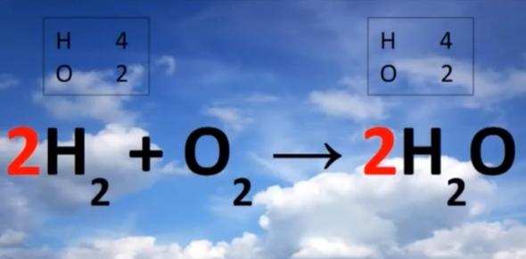 شرح درس وزن المعادلة الكيميائية.. واسهل طريقة لوزن المعادلات الكيميائية فيديو - صفحة 2 2465