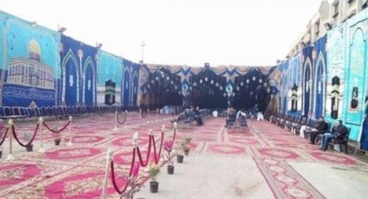 إيقاف مدير مدرسة بالشرقية عن العمل لإقامة سرادق عزاء بفناء المدرسة 25215