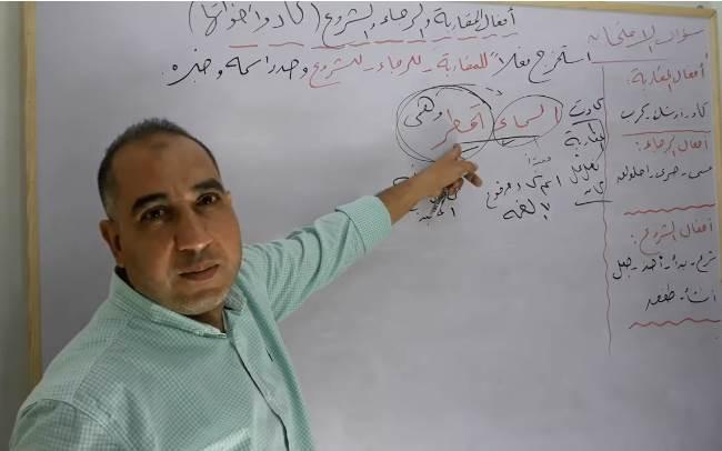 """شرح نحو الصف الثالث الثانوي """"فيديو"""" أ/ ياسر سليم 28810"""