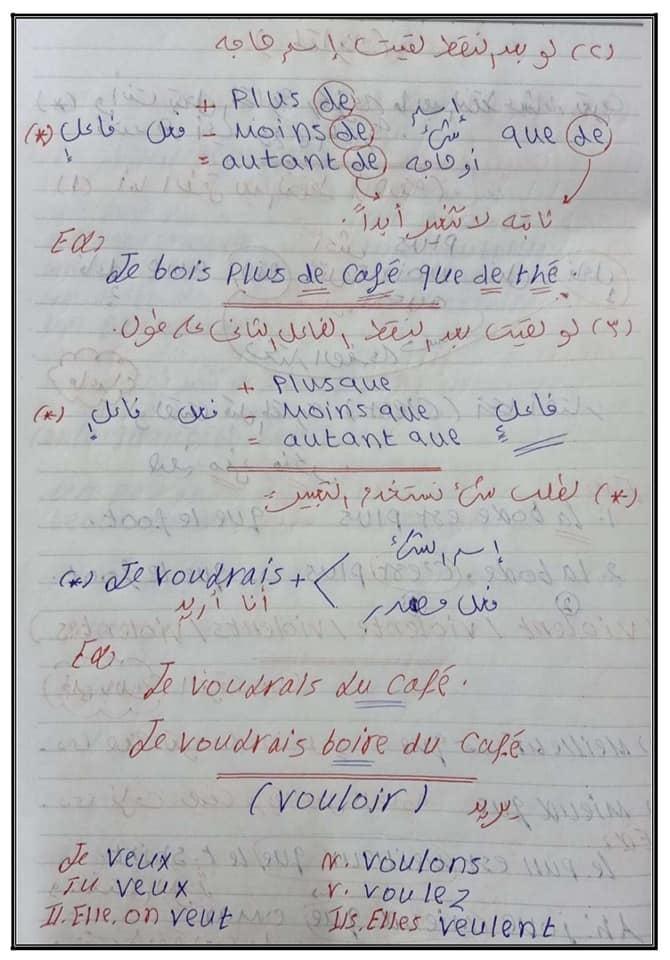 مراجعة لغة فرنسية الثانوية العامة مسيو حسام أبو المجد 31722