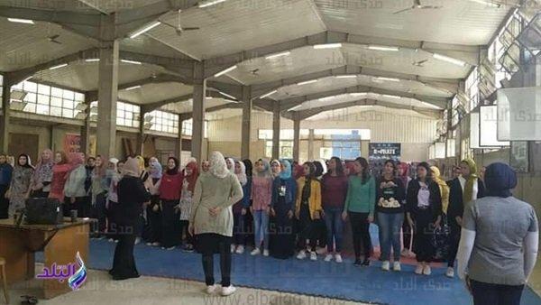 طالبات جامعة المنيا يتعلمن الكونغ فو والكاراتيه.. وإجراء اختبارات أعمال السنة إلكترونيا بحاسبات ومعلومات المنصورة 38212