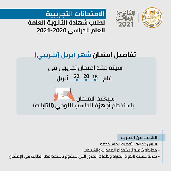 مستند | منشور مهم من وزارة التربية والتعليم بشأن الامتحانات التجريبية لطلاب الثانوية العامة 397