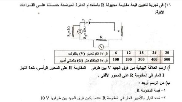 150 مسألة فيزياء محلولة للصف الثالث الثانوي 41132