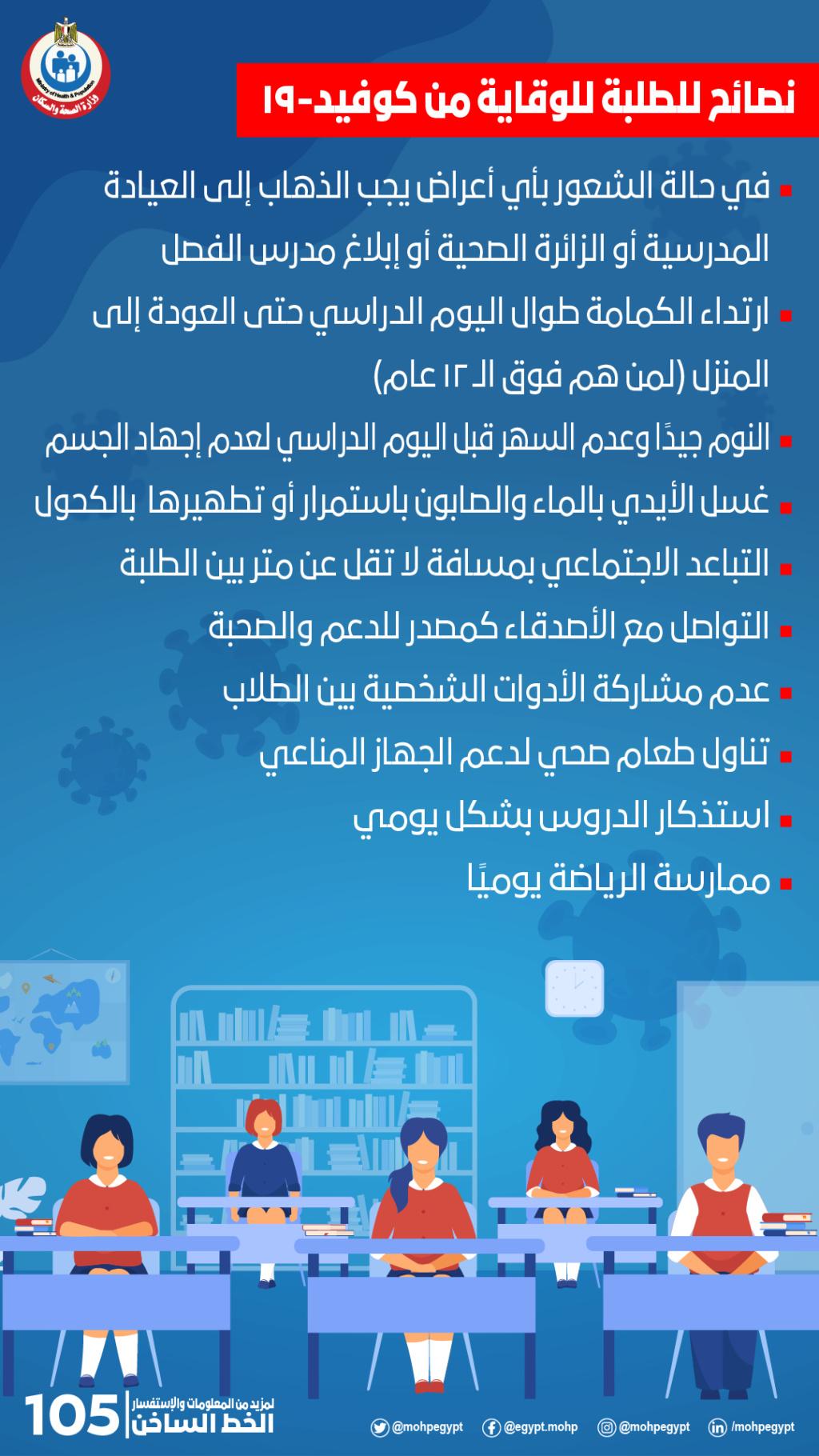 كيف يحمي الطلاب أنفسهم من فيروس كورونا؟ .. وزير التعليم يُجيب  41140