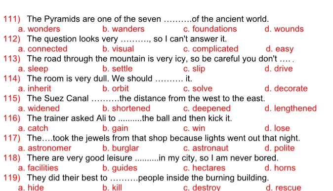 افضل 5 مراجعات لغة نجليزية للصف الاول الثانوي ترم ثاني تجميع مستر احمد سعيد 41149