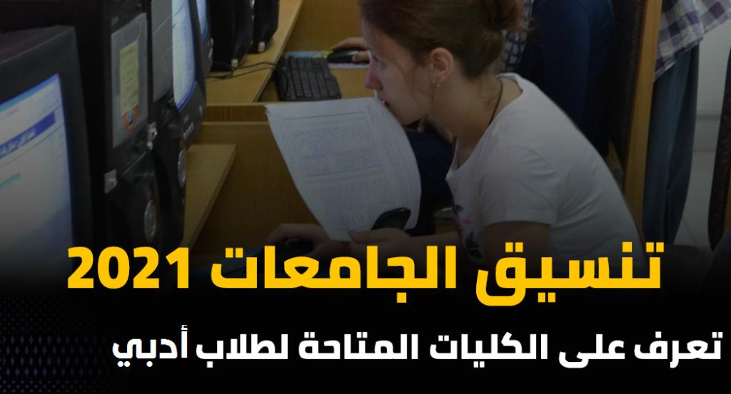 تنسيق الجامعات 2021.. الكليات المتاحة لطلاب أدبي 41186
