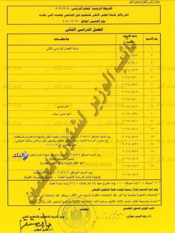 التعليم: امتحانات الفصل الدراسي الأول 23 يناير.. مستند 41316