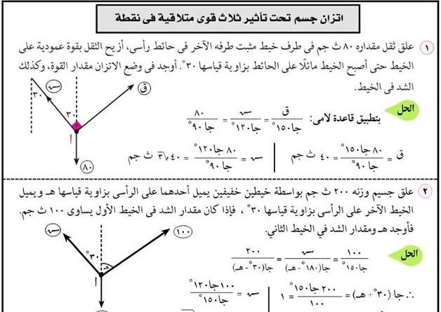 مراجعة ليلة امتحان تطبيقات الرياضيات للصف الثاني الثانوي ترم أول أ/ خالد جاد 4402