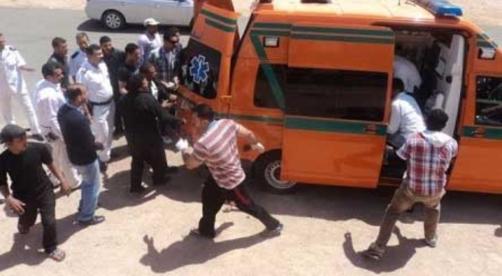 """جرح نافذ بالصدر وأخر بالفخذ.. الاعتداء على طالب بزجاجة """"مياة غازية"""" بالقليوبية 44155"""